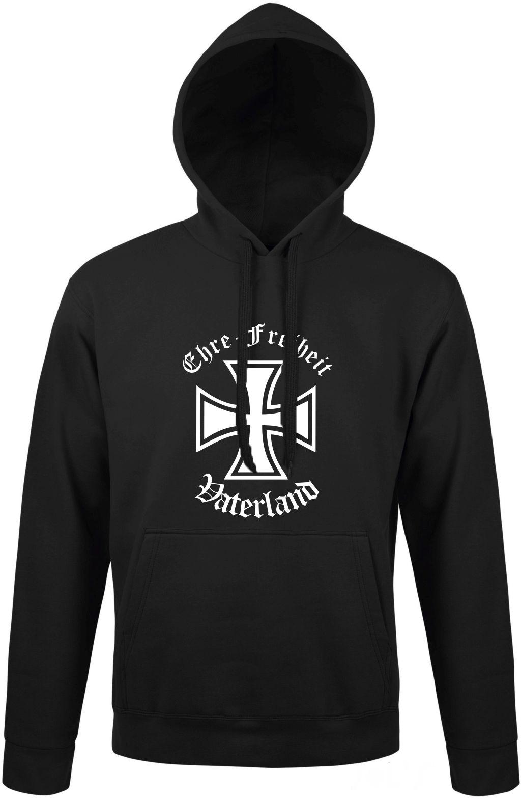 Ehre Freiheit Vaterland Sweatshirt Hoodie Unisex